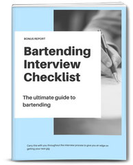 best used Bartending Interview techniques included with The Ultimate Guide To Bartending