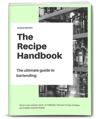 Drink Mixology Recipe Handbook included with The Ultimate Guide To Bartending