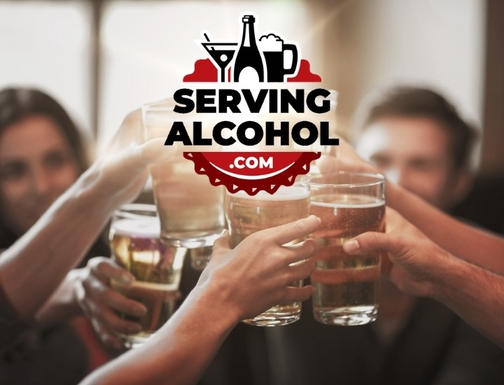 Serving Alcohol cheers for bartenders and servers